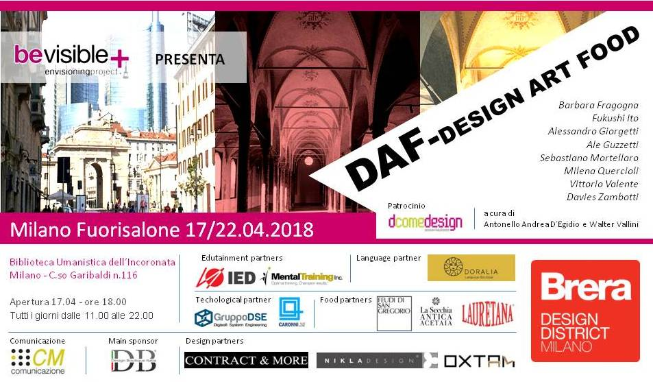 Daf- Design Art Food Fuorisalone Milano